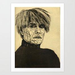 My Favorite Rogue (Warhol) Art Print