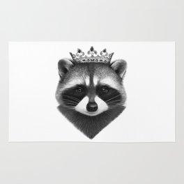 King raccoon Rug