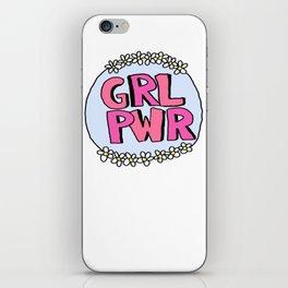 Grl Pwr - Feminist iPhone Skin