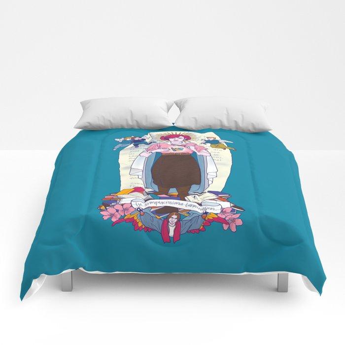 Virgen de Shermer Comforters