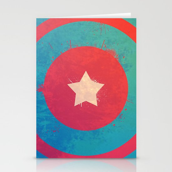 Captain's Sheild! Stationery Cards