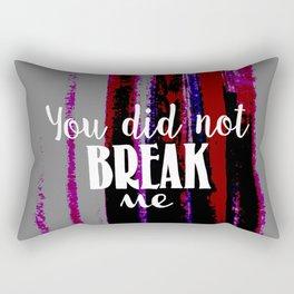 Unbroken Rectangular Pillow