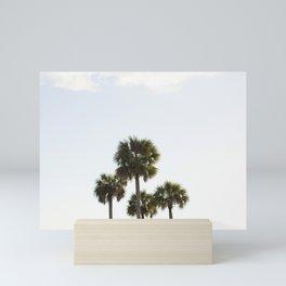 Four Palms Mini Art Print