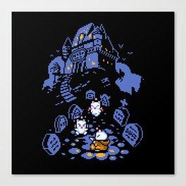 Moogle halloween Canvas Print