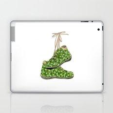Floral Shoes Laptop & iPad Skin