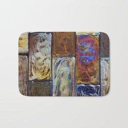 Colorful Glass Bath Mat