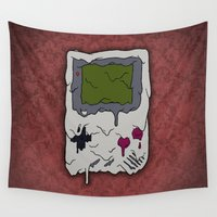 gaming Wall Tapestries featuring Decay of Gaming by Nate Galbraith