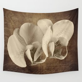 Vintage Flowers Digital Collage 21 Wall Tapestry