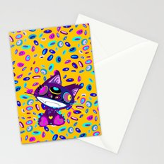 Psychocat Stationery Cards