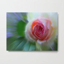 little rosebud Metal Print
