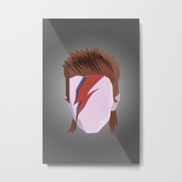 Bowie. Metal Print