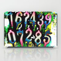 numbers iPad Cases featuring Numbers! by gasponce