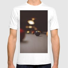 Billard MEDIUM Mens Fitted Tee White