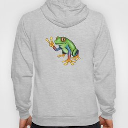 Peace Frog Hoody