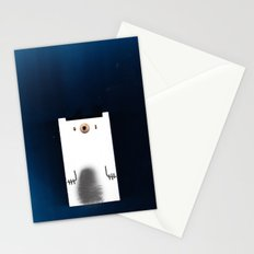 Polar Night Stationery Cards