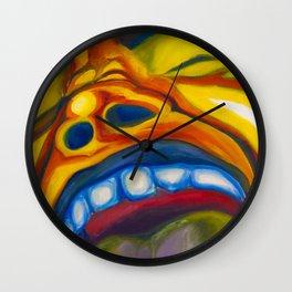 The Screaming Man Wall Clock