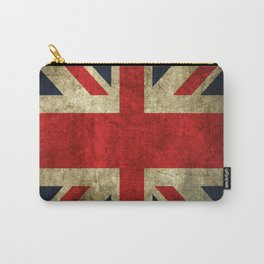 GRUNGY BRITISH UNION JACK  DESIGN ART Carry-All Pouch