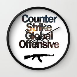 Counter Strike - Global Offensive  Wall Clock