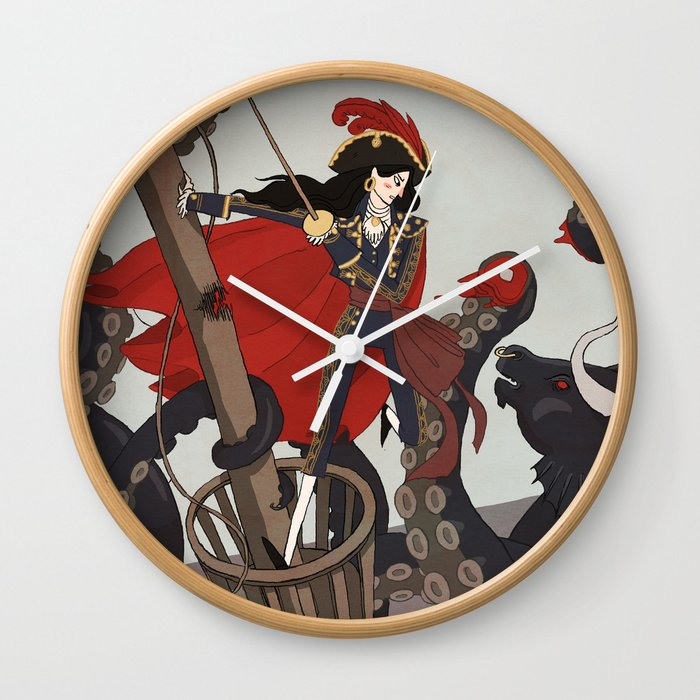 Nautical Matador Wall Clock