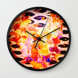 Intrigued Wall Clock