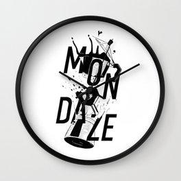 Mondaze Wall Clock