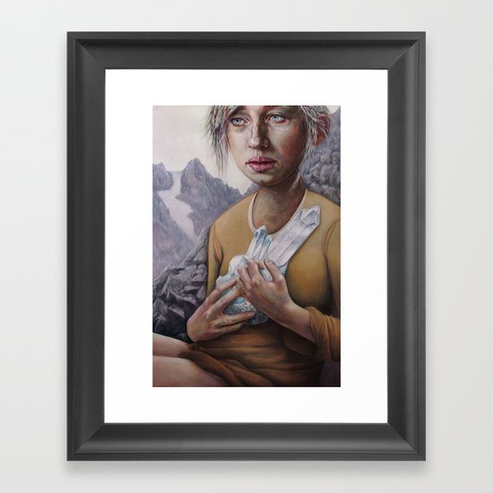 The Death of Crystallina Framed Art Print