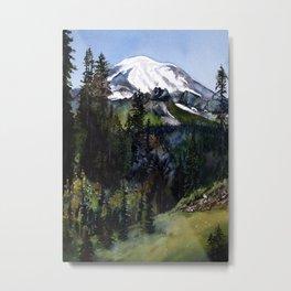 Mt. Rainier II Metal Print