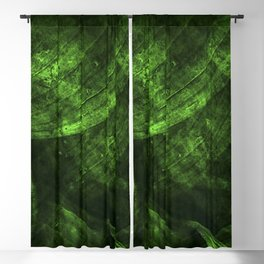 Fresh green nature Blackout Curtain