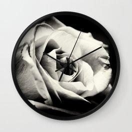 She Blooms Wall Clock