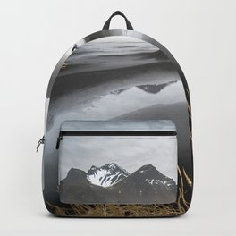 """""""Excite"""" - A Moody Morning (Vestrahorn, Iceland) Backpack"""