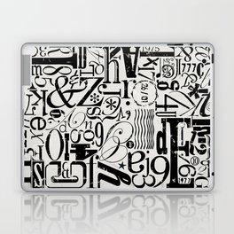 MixMatch Letters Laptop & iPad Skin
