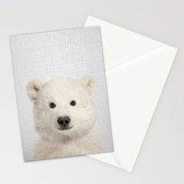 Polar Bear - Colorful Stationery Cards