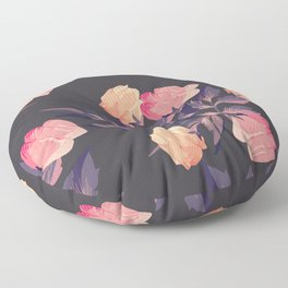 pink roses Floor Pillow