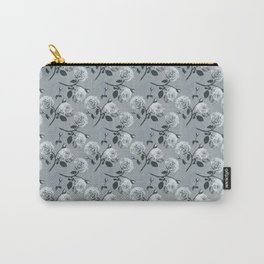 Romantic roses - Grey Carry-All Pouch