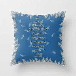 Dawning Tower Throw Pillow