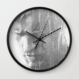 Replicant Lasts words Wall Clock