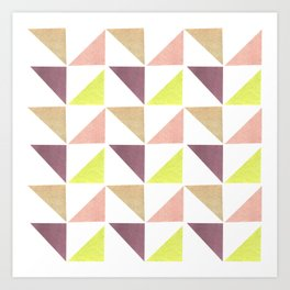 Triangle II Art Print