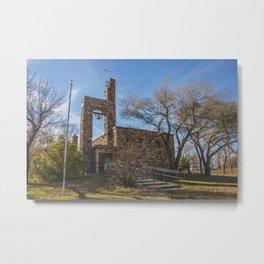 St.Martin's Church, Huff, North Dakota 2 Metal Print