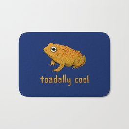 Toadally Cool Psychedelic Toad Bath Mat