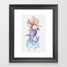 Cascade Framed Art Print