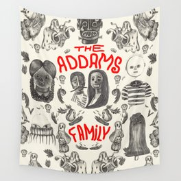The Addams Family Wall Tapestry
