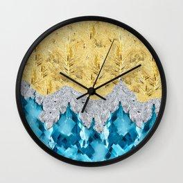 SJ Cummings : 5th Floor -Ad Maiorem Dei Gloriam Wall Clock