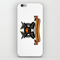 master chief iPhone & iPod Skins featuring Master Chief by Toby Court