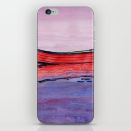 Red Dory Reflections iPhone Skin