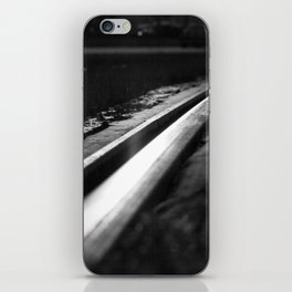 Abstract view on the railroad iPhone Skin