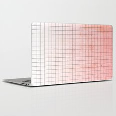 Sweet Pink Geometry Laptop & iPad Skin