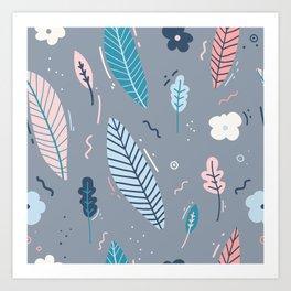 Garden Pattern 2 Art Print