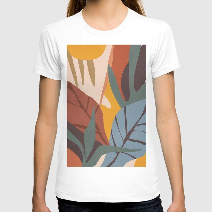 Abstract Art Jungle T-shirt