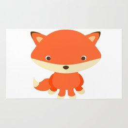 Cute Fox 1 Rug