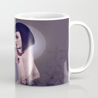 rogue Mugs featuring Rogue by Whendell